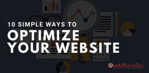 10 simple ways to optimize your website